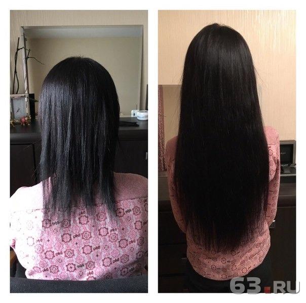 Наращивание волос в самаре цена