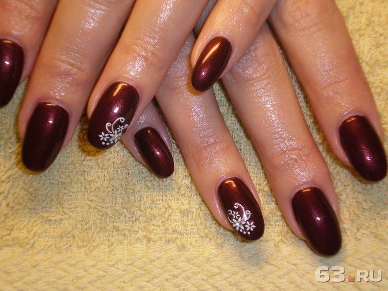 Фото ногтей покрытых гелем