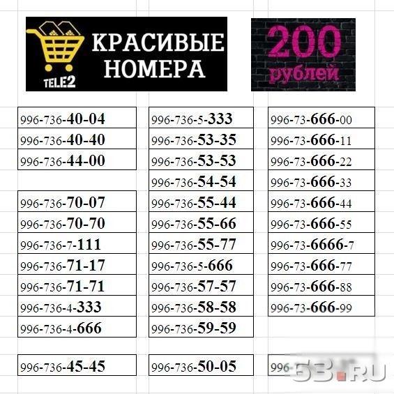 выбрать коасивый номер тел москва Хабаровске