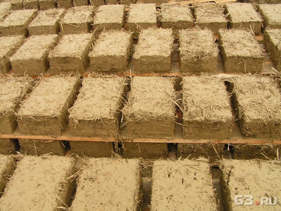Как сделать блоки с глины