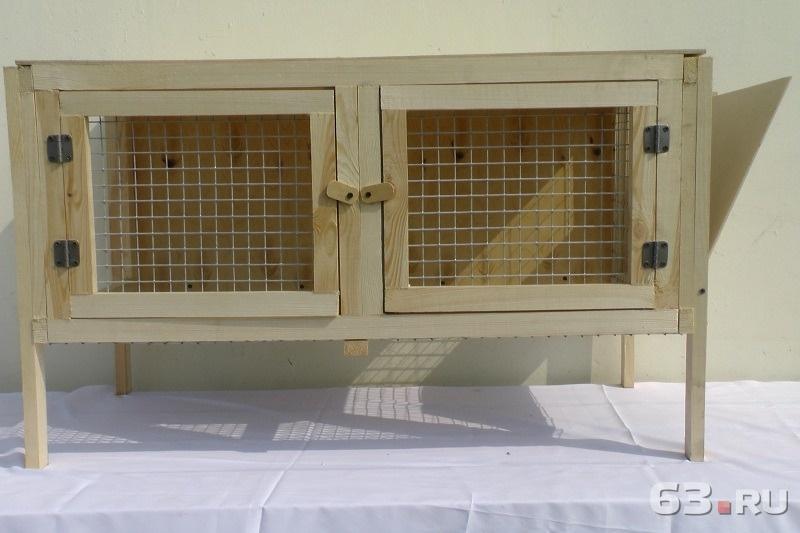 Клетка для откорма кроликов средних пород в Самаре. Цена - 3000.00 руб. - 63.ru
