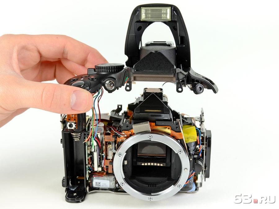 Как сделать диагностику фотоаппарата
