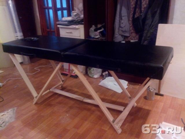 Как сделать своими руками массажный стол