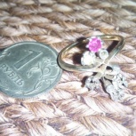 Кольцо 56пробы с брилиантами, Самара