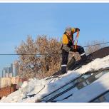 Очистка крыш от снега и наледи, Самара