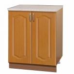 Шкаф-стол с дверцами шнм60 вишня, Самара