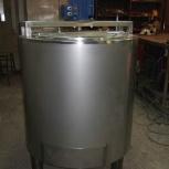 Ёмкость нержавеющая,объем — 0,4 куб.м.,с рубашкой, термоизоляцией, Самара