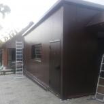 строительство гаражей из сэндвич-панелей, Самара