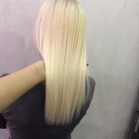 Кератиновое выпрямление и Ботокс для волос, Самара