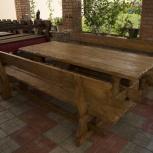 Новая мебель для бани из дерева под старину, Самара