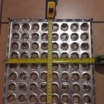 Металлическая плитка для промышленных полов, Самара