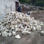 Бут, бутовый камень для сооружений, крупный камень для габионов., Самара