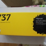 Продаю тонер-картридж тс-С737 черный (новый), Самара