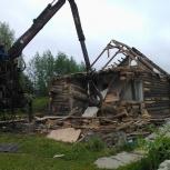 Слом домов, построек  уборка территорий с вывозом в Самаре, Самара