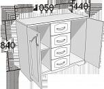 Спальный гарнитур венеция мини, Самара