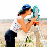Видео-курс по геодезии. Работа с тахеометром, Самара