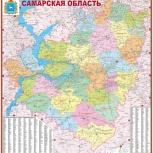Административная карта Самарской области, Самара