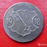 Германия. Нотгельд.10 пф. 1918 Worms, Самара