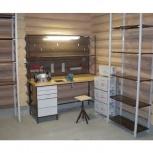 Мебель в гараж (верстак+стеллаж), Самара