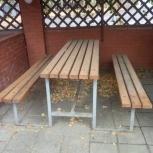 Столы и стулья для дачи, кафе, столовой, Самара
