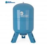 Бак мембранный для водоснабжения wester premium wav100 нерж, Самара