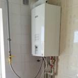 Монтаж котла и системы отопления частного дома, Самара
