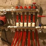 Монтаж водяного теплого пола, ремонт, укладка труб, Самара