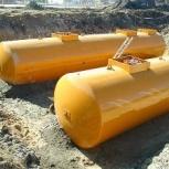 Резервуар горизонтальный стальной РГС-50 м3 (РГСП-50м3), Самара