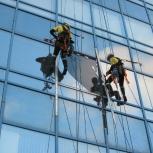 Высотные работы, промышленные альпинисты, Самара