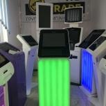 Информационный терминал с подсветкой, Самара
