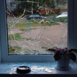 Замена поврежденных стекол/стеклопа, Самара