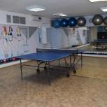 Зал для настольного тенниса в аренду, Самара