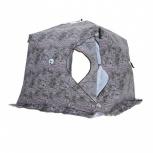 Палатка Куб 2,5х2,5х2,3, Зимний лес, Самара