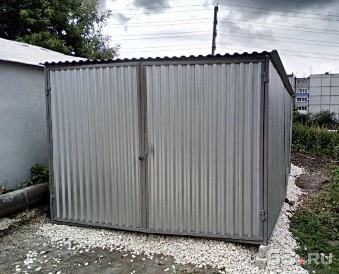 Металлический гараж самара верстак для гаража купить украине