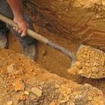 Ручная копка лопатами, Самара