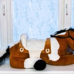 Мягкая игрушка Лошадка огромная 150 см, Самара