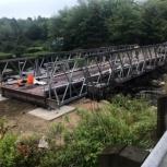 Автодорожный быстровозводимый мост., Самара