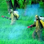 Обработка клещей, комаров на всех участках, Самара