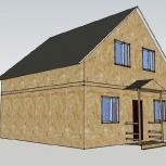 Строительство жилого дома 7,5х7,5 м, Самара