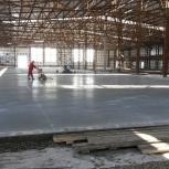 Устройство бетонных полов, упрочнённых топпингами, Самара