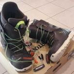 Ботинки для сноуборда Burton Moto Brown, Самара