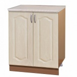 Шкаф-стол с дверцами шн60 перламутр, Самара