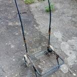 Дачная коляска для перевозки клади,  на 2х колёсах, Самара