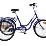 Велосипед Аист трехколесный для взрослых грузовой (Минский велозавод), Самара