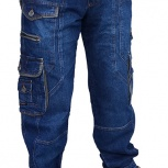 PRODIGY мужские джинсы с накладными карманами, Самара