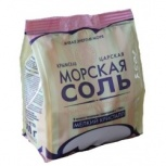 Соль морская розовая пищевая, мелкий помол, 1 сорт, пакет 0,5 кг, Самара