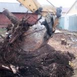 Расчистка участков от мусора и растительности. Демонтаж старых домов., Самара