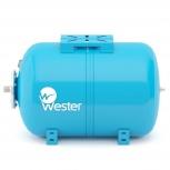 Бак мембранный для водоснабжения горизонтальный wester wao150, Самара