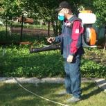 Обработка садовых, дачных участков от насекомых, Самара
