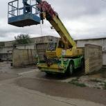 Короткобазный кран 10 т с монтажной корзиной, Самара